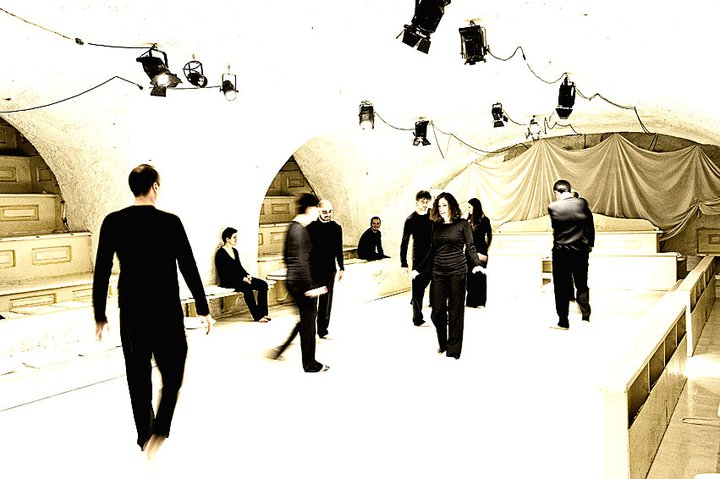teatro di documenti spettacolo odisseo di metisteatro immagine del gruppo